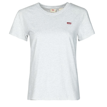 textil Dam T-shirts Levi's PERFECT TEE Grå