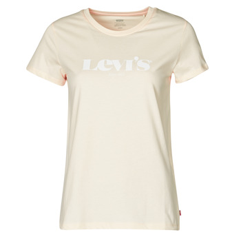 textil Dam T-shirts Levi's THE PERFECT TEE Beige