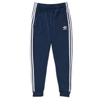 textil Barn Joggingbyxor adidas Originals GN8454 Blå