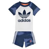 textil Pojkar Set adidas Originals GN4110 Vit