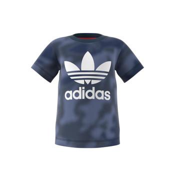textil Pojkar T-shirts adidas Originals GN4116 Blå