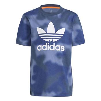textil Pojkar T-shirts adidas Originals GN4119 Blå