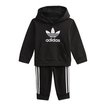 textil Barn Sweatshirts adidas Originals DV2809 Svart