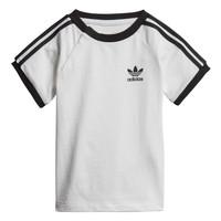 textil Barn T-shirts adidas Originals DV2824 Vit