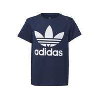 textil Barn T-shirts adidas Originals GD2679 Blå