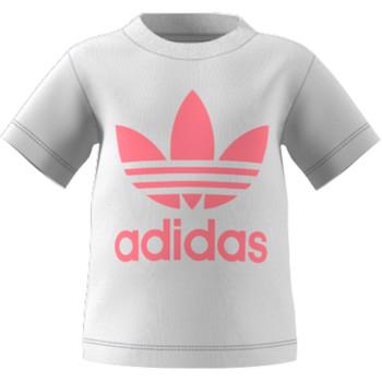 textil Barn T-shirts adidas Originals GN8175 Vit