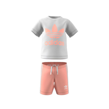 textil Barn Set adidas Originals GN8192 Vit