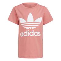 textil Barn T-shirts adidas Originals HOULILA Vit