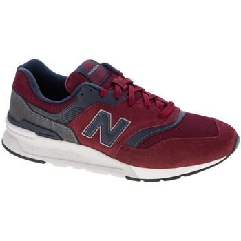 Skor Herr Sneakers New Balance 997 Rödbrunt, Grafit