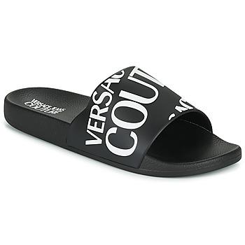 Skor Herr Flipflops Versace Jeans Couture TENNIA Svart / Vit