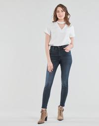 textil Dam Skinny Jeans Diesel D-SLANDY-HIGH Blå