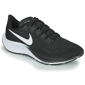 Skor Herr Löparskor Nike AIR ZOOM PEGASUS 37 Svart / Vit
