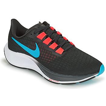 Skor Herr Löparskor Nike AIR ZOOM PEGASUS 37 Svart / Röd / Blå