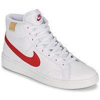 Skor Herr Sneakers Nike COURT ROYALE 2 MID Vit / Röd