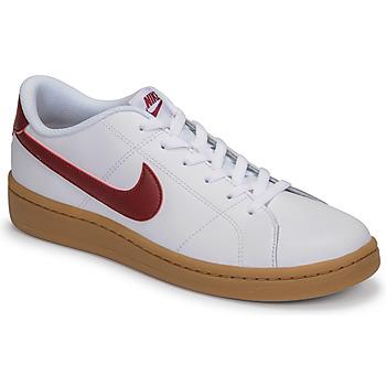 Skor Herr Sneakers Nike COURT ROYALE 2 LOW Vit / Röd