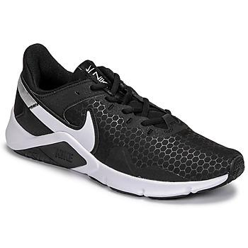 Skor Herr Träningsskor Nike LEGEND ESSENTIAL 2 Svart / Vit