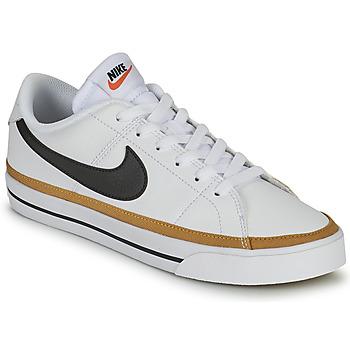 Skor Dam Sneakers Nike COURT LEGACY Vit / Blå