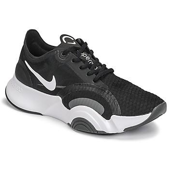 Skor Dam Träningsskor Nike SUPERREP GO Svart / Vit