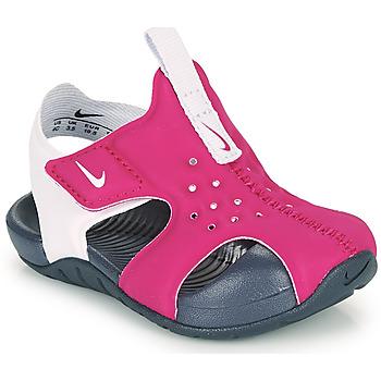Skor Flickor Flipflops Nike SUNRAY PROTECT 2 TD Violett