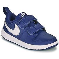 Skor Pojkar Sneakers Nike PICO 5 PS Blå / Vit