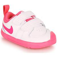 Skor Flickor Sneakers Nike PICO 5 TD Vit / Rosa