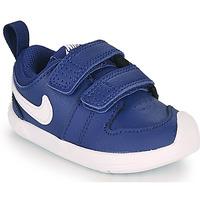 Skor Pojkar Sneakers Nike PICO 5 TD Blå / Vit