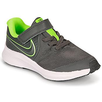 Skor Pojkar Träningsskor Nike STAR RUNNER 2 PS Grå / Grön