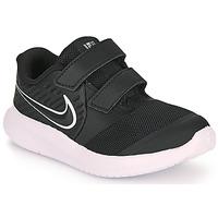 Skor Barn Träningsskor Nike STAR RUNNER 2 TD Svart / Vit