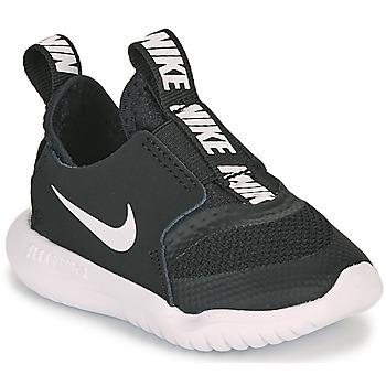 Skor Barn Träningsskor Nike FLEX RUNNER TD Svart / Vit