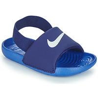 Skor Pojkar Flipflops Nike NIKE KAWA TD Blå