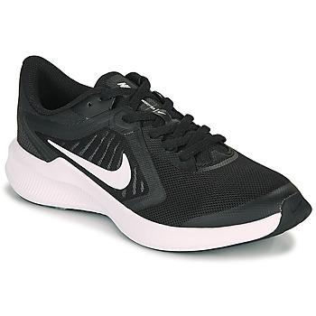Skor Barn Träningsskor Nike DOWNSHIFTER 10 GS Svart / Vit