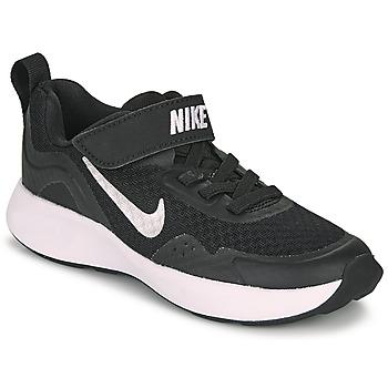 Skor Barn Träningsskor Nike WEARALLDAY PS Svart / Vit
