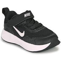 Skor Barn Träningsskor Nike WEARALLDAY TD Svart / Vit