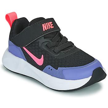 Skor Flickor Träningsskor Nike WEARALLDAY TD Svart / Blå