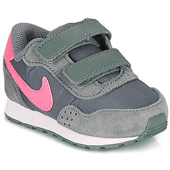 Skor Flickor Sneakers Nike MD VALIANT TD Grå / Rosa