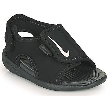 Skor Barn Flipflops Nike SUNRAY ADJUST 5 V2 TD Svart