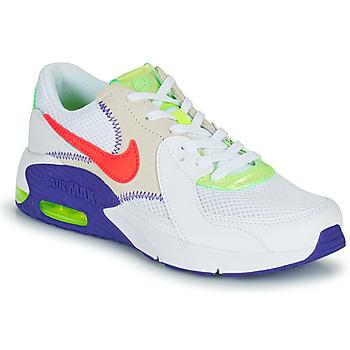 Skor Barn Sneakers Nike AIR MAX EXCEE AMD GS Vit / Blå / Röd