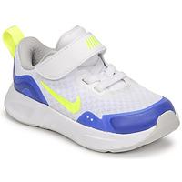 Skor Barn Träningsskor Nike NIKE WEARALLDAY Vit / Blå / Grön