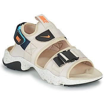 Skor Dam Flipflops Nike NIKE CANYON Beige