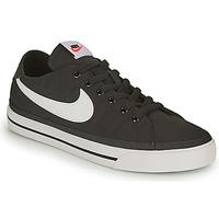 Skor Herr Sneakers Nike NIKE COURT LEGACY CANVAS Svart / Vit