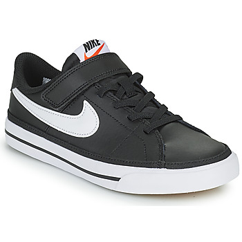 Skor Barn Sneakers Nike NIKE COURT LEGACY Svart / Vit