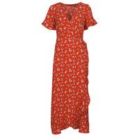 textil Dam Långklänningar Vero Moda VMSAGA Röd