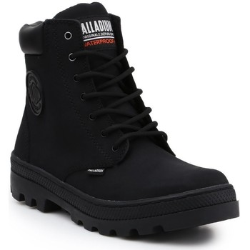 Skor Dam Höga sneakers Palladium Manufacture Pallabosse SC Waterproof 96868-008-M black