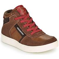 Skor Pojkar Höga sneakers Redskins LAVAL KID Brun / Röd
