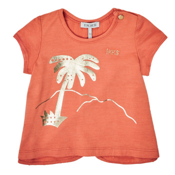 textil Flickor T-shirts Ikks XS10080-67 Orange