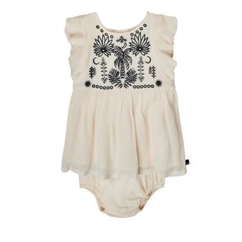textil Flickor Korta klänningar Ikks XS30060-11 Vit