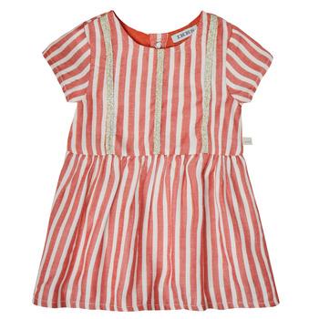 textil Flickor Korta klänningar Ikks XS30000-35 Röd