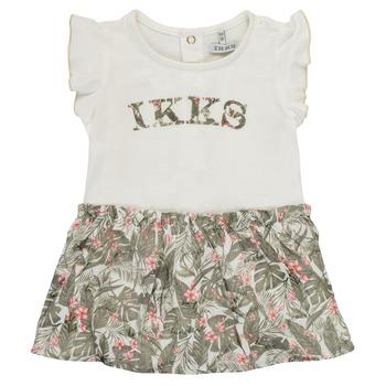 textil Flickor Korta klänningar Ikks XS30120-19 Flerfärgad