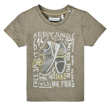 textil Pojkar T-shirts Ikks XS10141-57 Kaki