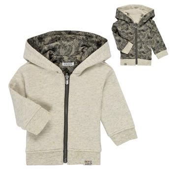 textil Pojkar Sweatshirts Ikks XS17041-15 Vit